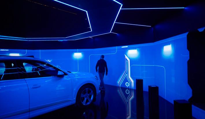 Audi e-tron room: El futuro de la conducción eléctrica en el primer escape room de Audi