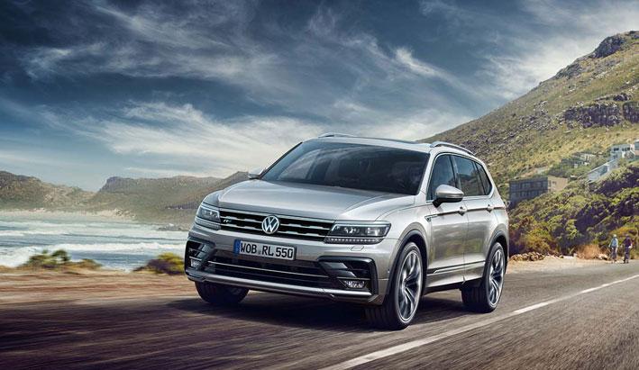 Volkswagen Tiguan Allspace R-Line. Acabado deportivo para el Tiguan