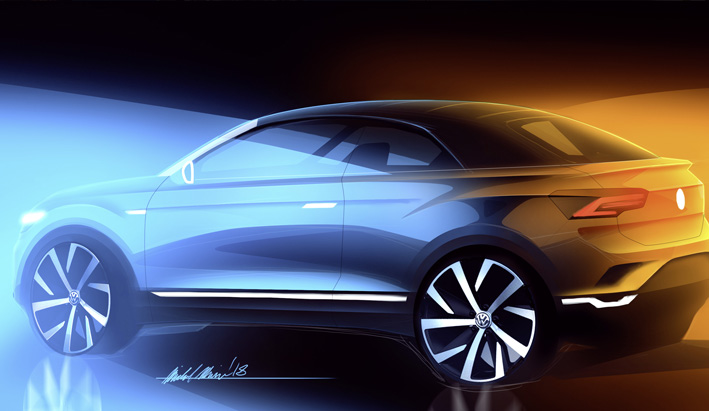 Volkswagen da luz verde al nuevo SUV cabrio basado en el T-Roc