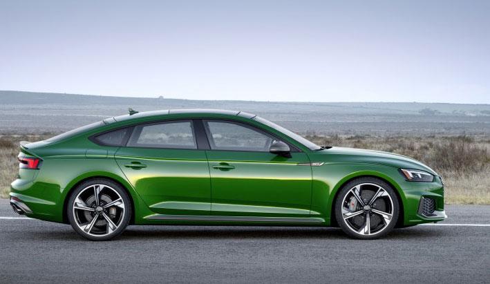 Nuevo Audi RS 5 Sportback. Elegancia y deportividad
