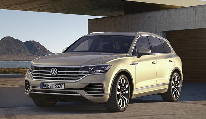 Volkswagen nos desvela el nuevo Touareg 2018