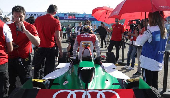 Audi coches eléctricos: equipo de Fórmula E, doblete en Berlín.