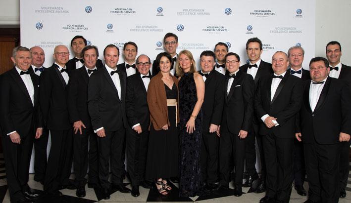 F.Tomé Volkswagen Vehículos Comerciales premiado en los Excelence Awards