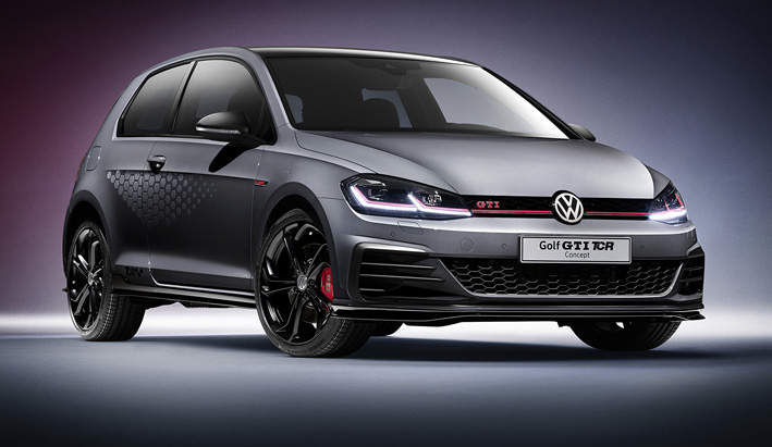 Estreno mundial del Volkswagen Golf GTI TCR Concept