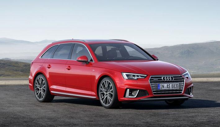 Audi A4 y A4 Avant, nuevos cambios en su diseño exterior para 2019