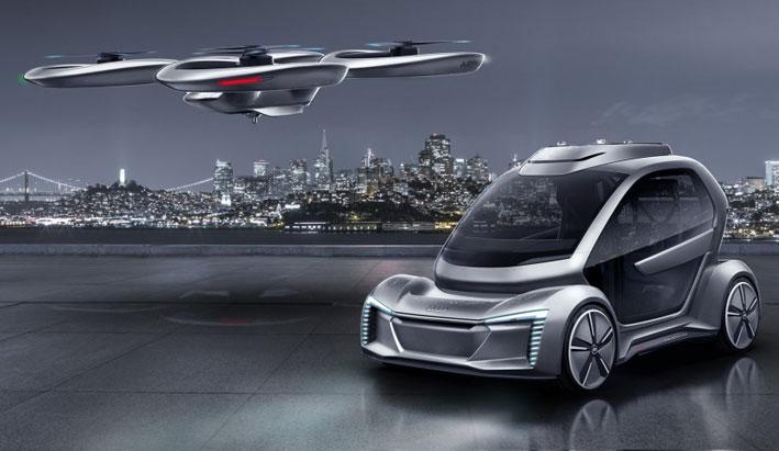 Audi apoya el proyecto de taxi aéreo
