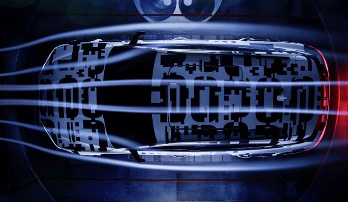 La aerodinámica del coche eléctrico Audi e-tron prototype
