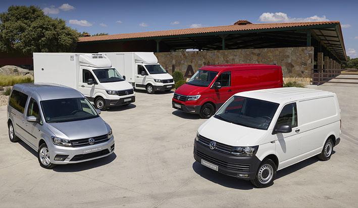 Volkswagen Vehículos Comerciales cierra el mejor semestre de la historia de la marca en España.
