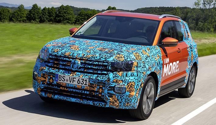 Nuevo T-Cross el nuevo formato SUV de Volkswagen.