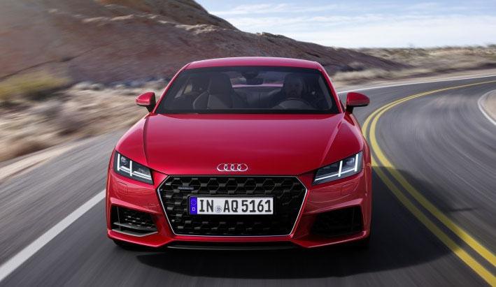 Nuevo Audi TT se actualiza un icono del diseño.