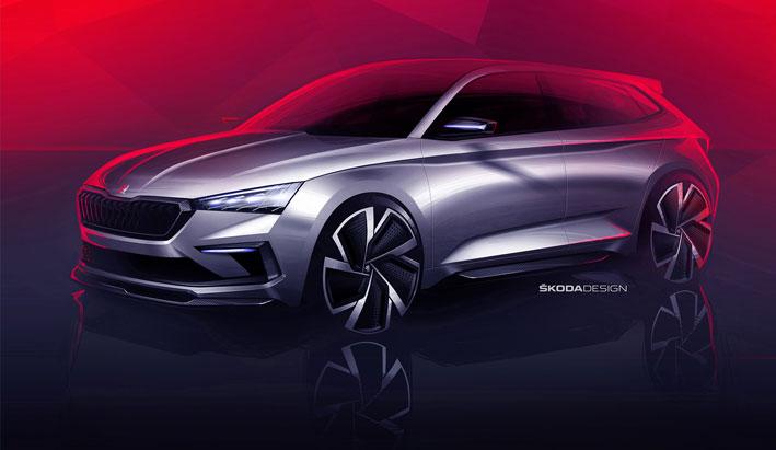 El ŠKODA VISION RS revela el diseño de la próxima generación RS
