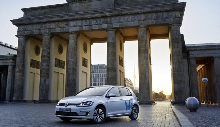 """Volkswagen """"WE SHARE"""" nuevo servicio de """"car sharing"""" eléctrico en Berlín"""
