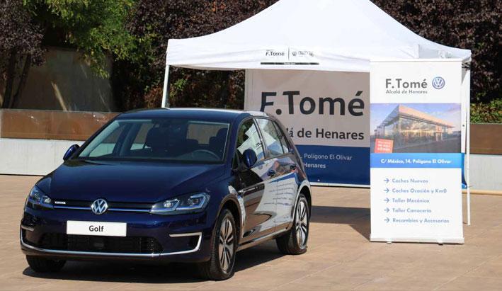 F.Tomé participó en la la II Feria del Vehículo Sostenible de Alcalá de Henares