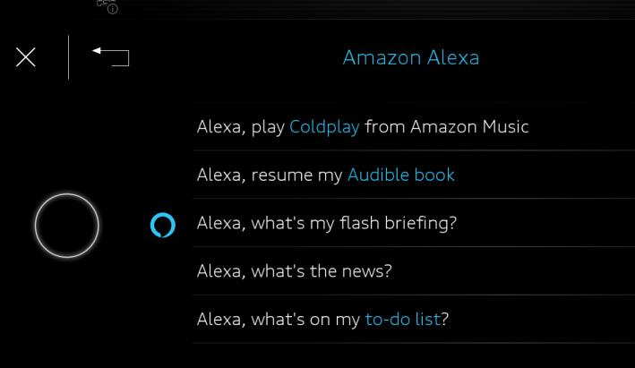 Audi e-tron con Amazon Alexa: streaming, compras e información