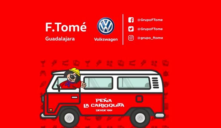 F.Tomé Guadalajara patrocina este año a la Peña La Carioquita