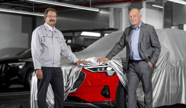 Audi comienza la producción del nuevo Audi e-tron