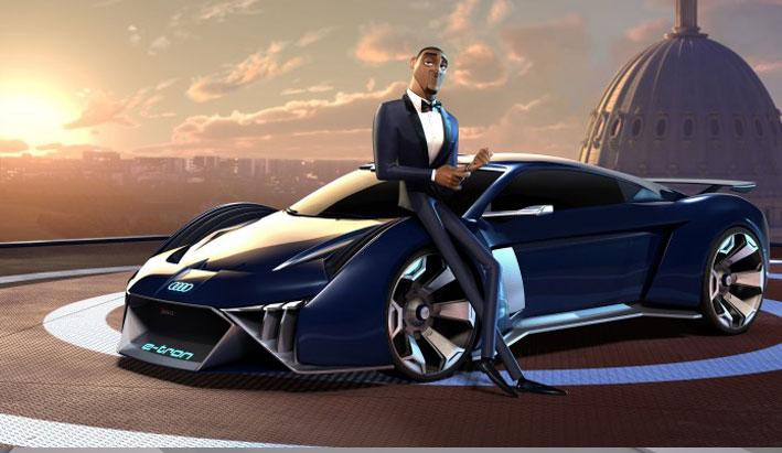 Audi diseña el primer concept car para una película animada
