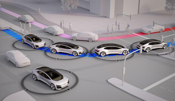 """Proyecto """"Hora 25"""" de Audi: sin atascos en la ciudad del futuro"""
