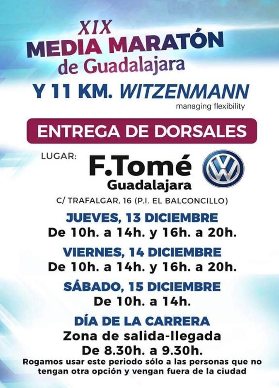 Media maratón de Guadalajara