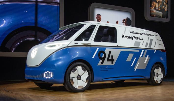 El I.D. BUZZ CARGO y la CARGO e-BIKE muestran el futuro del transporte.