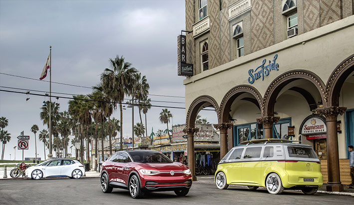 Volkswagen fabricará su nueva generación de coches eléctricos en Estados Unidos