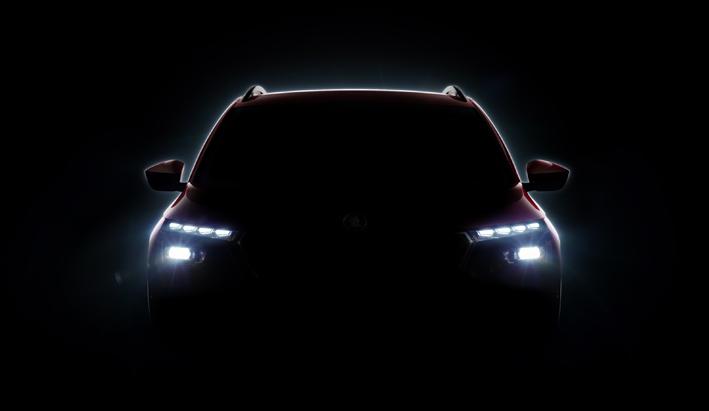 Estreno mundial del nuevo crossover: Škoda amplía su familia suv.