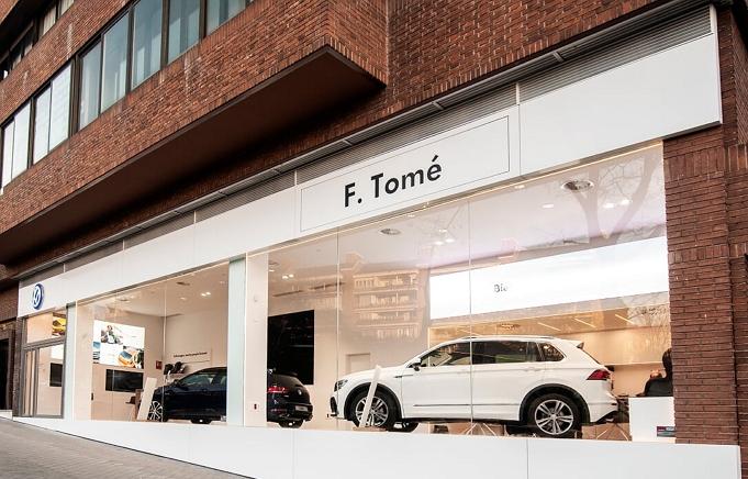 Segundo Aniversario F.Tomé Volkswagen City Store Madrid