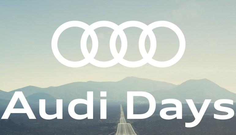 Ven a los Special Days de Audi