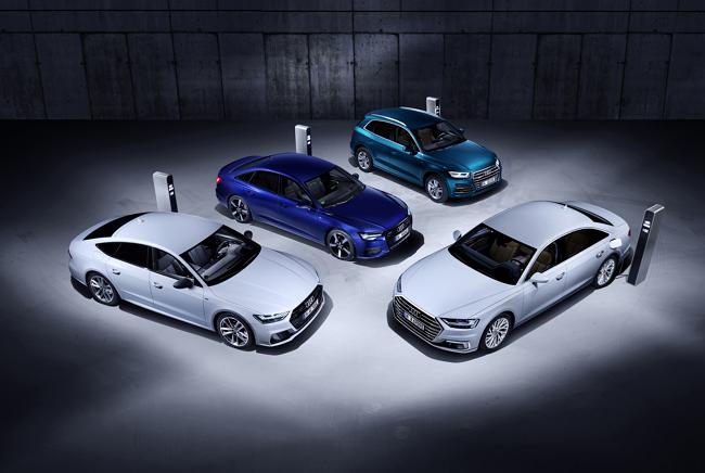 Nuevos Audi Híbridos Enchufables