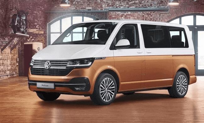 El vehículo comercial Volkswagen Multivan
