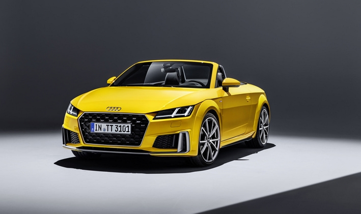 ¿El Audi TT coupé es descapotable?