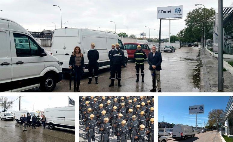 UME devuelve los 3 Volkswagen Crafter cedidos por Grupo F. Tomé