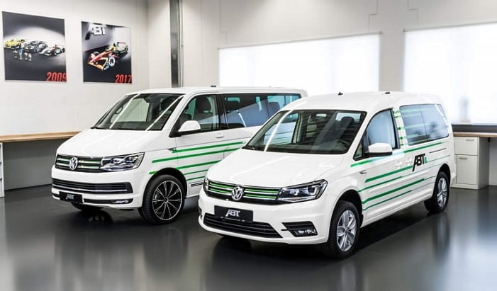 Nueva Gama Furgonetas Électricas Volkswagen Comerciales