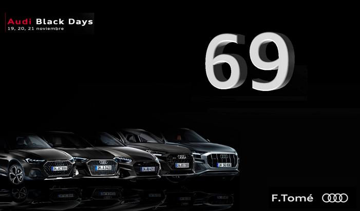 69 ventas en F.Tomé Audi Black Days